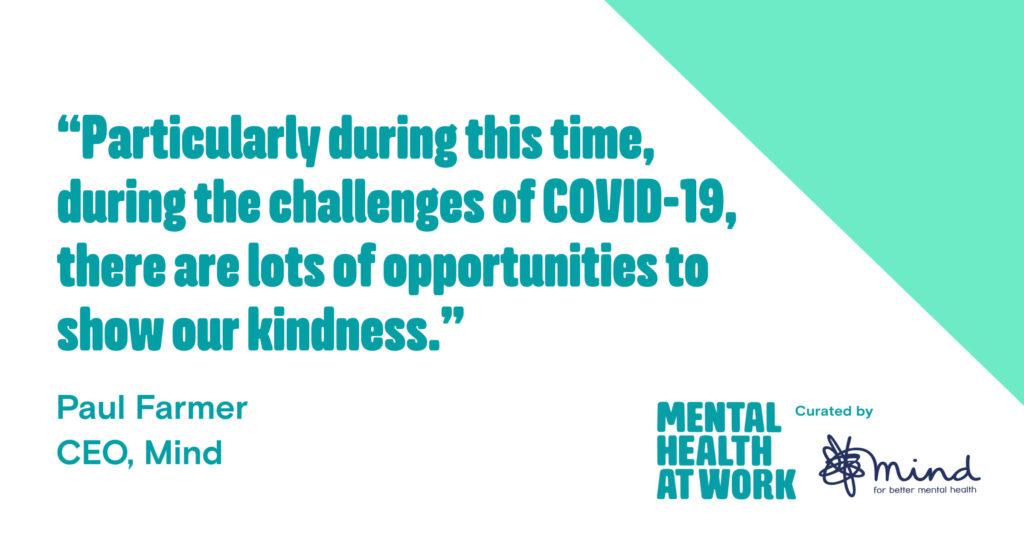 Mental Health Awareness Week 2020: Kindness - Mental ...