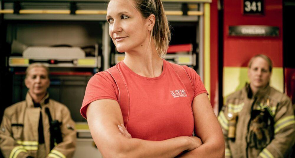 A firefighter.