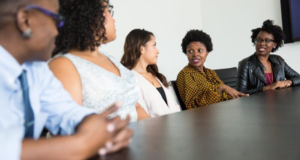A board meeting